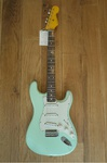 Nash Guitars Nashguitars S-63, Surf Green, Light Aging