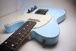 Nash Guitars Nashguitars T-63, Sonic Blue, Light Aging