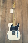 Nash Guitars Nashguitars T-52, Olympic White, Heavy Aging
